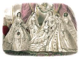 1860 wedding
