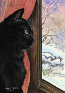 """CAT WINTER"", New Science-Fantasy Fiction by Mollie Hunt"