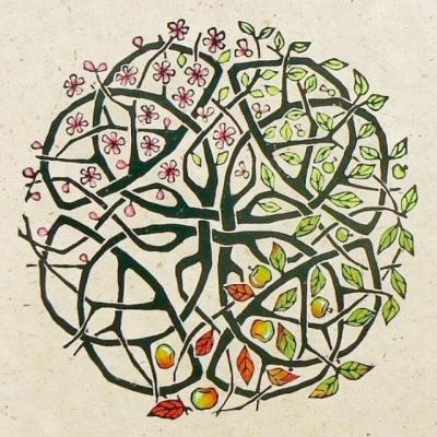 apple tree celtic knot