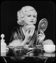 Jean-Harlow-dressing-table-vintage-lady