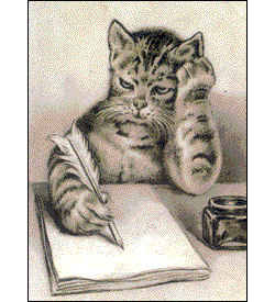 cat_writing