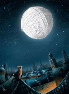 a kitty's dream moon ~ Mirsad
